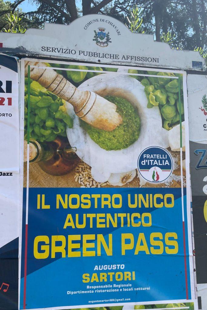 green pass pesto fdi liguria