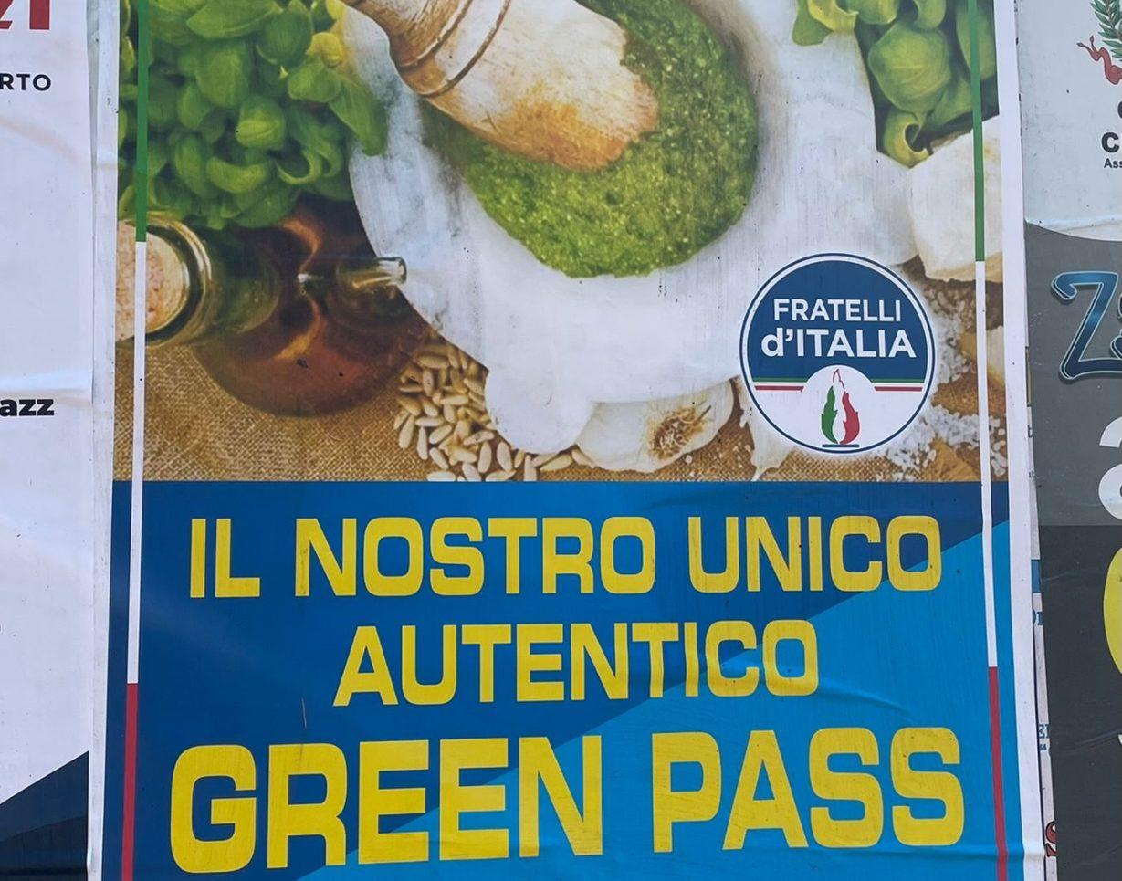 green pass pesto fdi liguria or