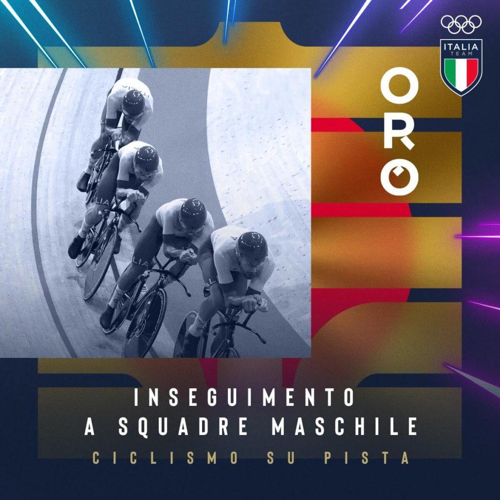 italia oro ciclismo tokyo