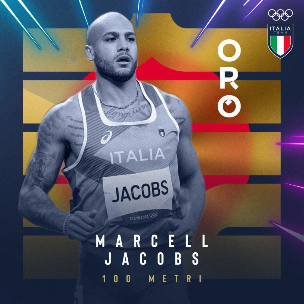 marcell jacobs tokyo 2020
