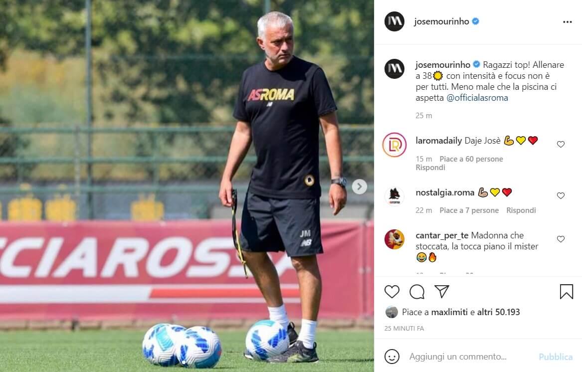 jose mourinho instagram