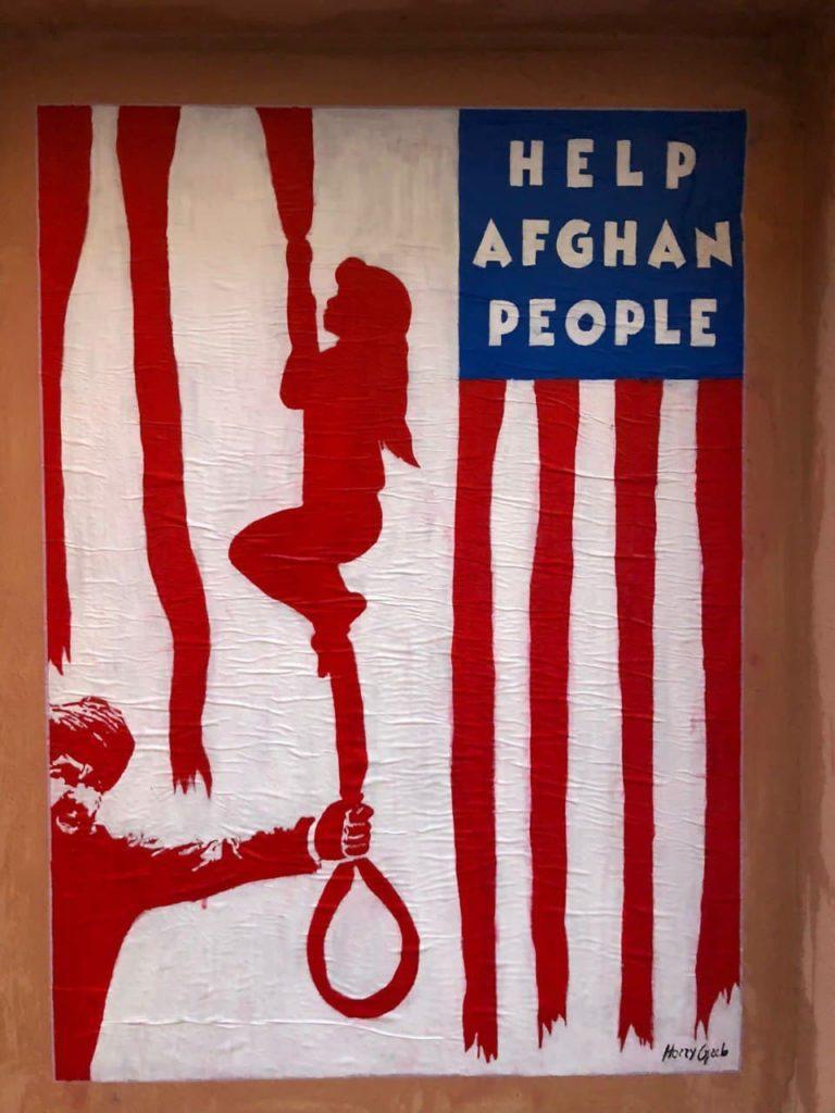 harry greb murale afghanistan