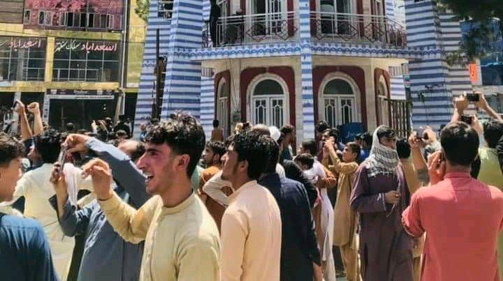 manifestazione afghanistan