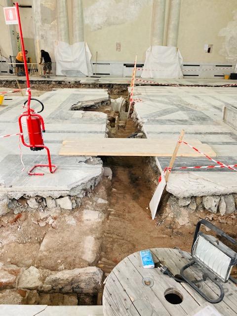 scavi genova reperti archeologici