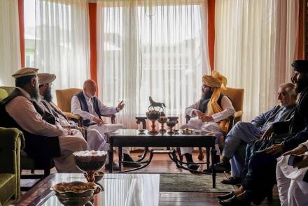 incontro talebani karzai afghanistan