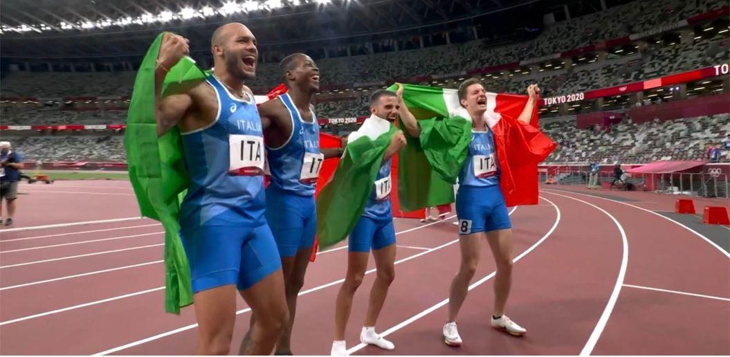 staffetta italia 4x100 tokyo 2020