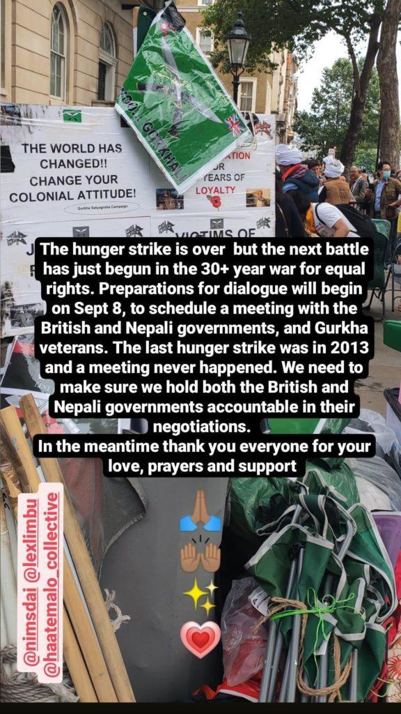 veterani gurkha del Nepal