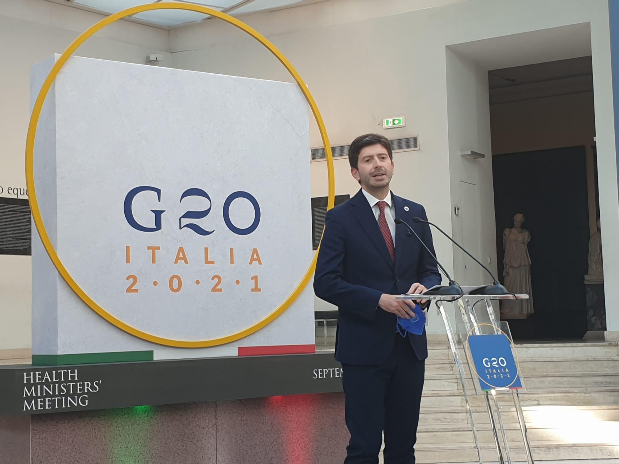 G20 Salute speranza