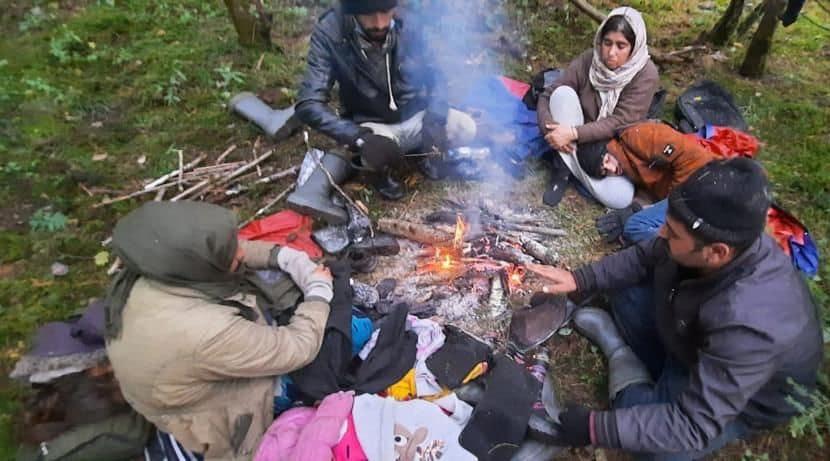 migranti Bielorussia
