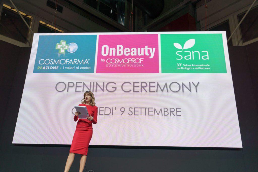 Sana OnBeauty e Cosmofarma fiera Bologna