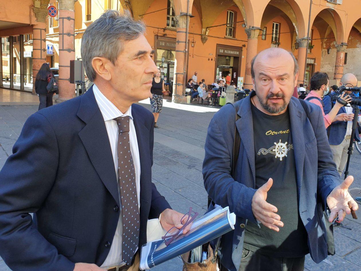 Fabio Battistini e Davide Rondoni