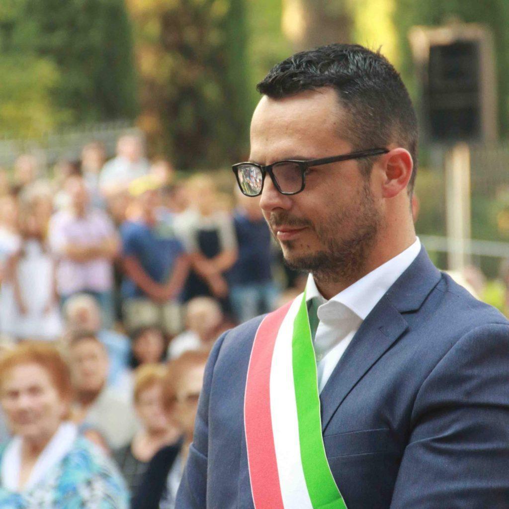 Gabriele Tasso sindaco di San Pietro Mussolino foto da Facebook