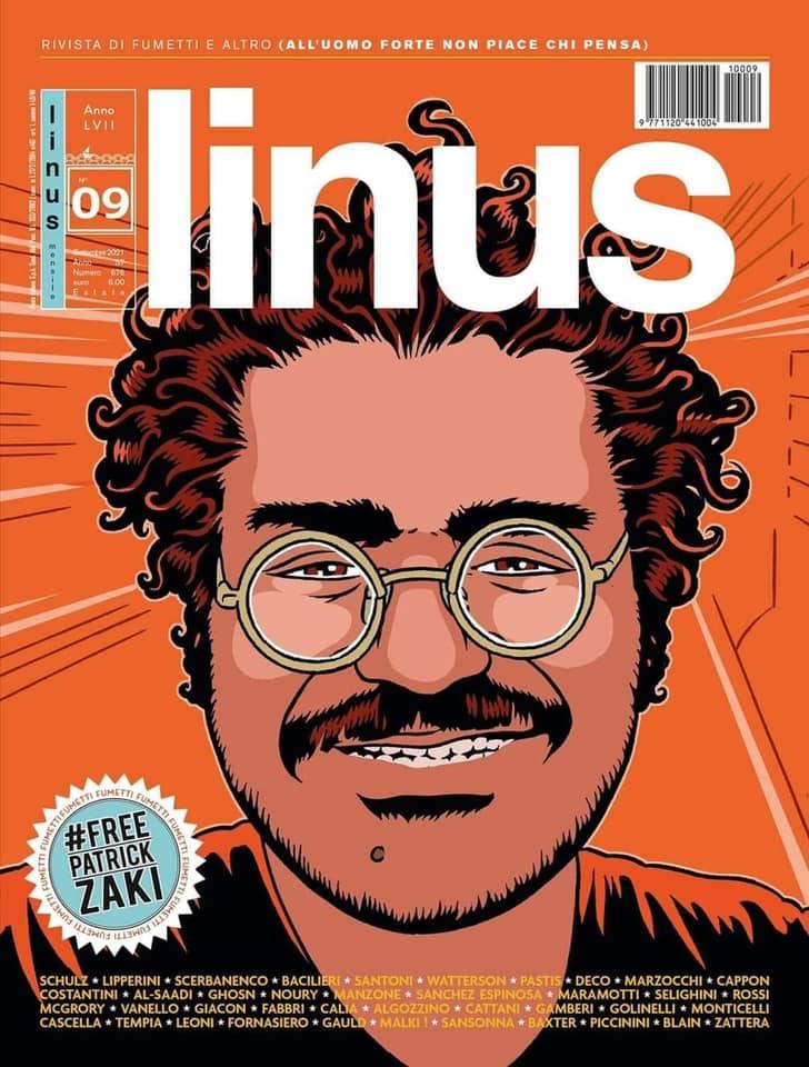 Linus patrick zaki foto dal profilo Facebook di Stefano Bonaccini