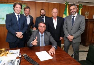 Maio Frias bolsonaro foto da twitter