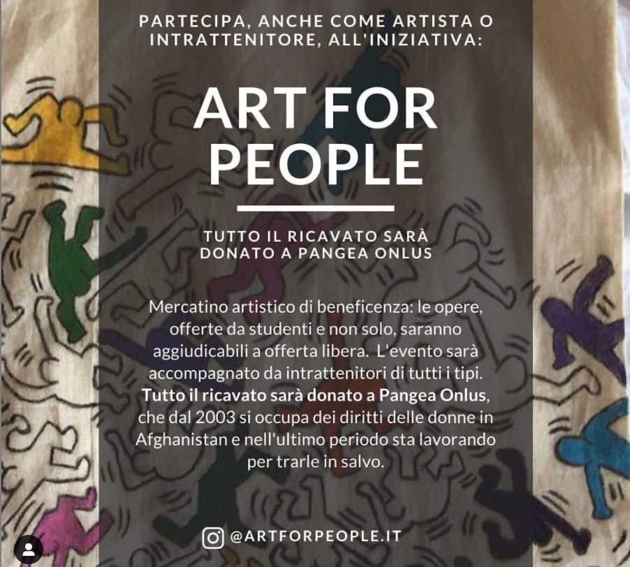 art for people mercatino artistico milano