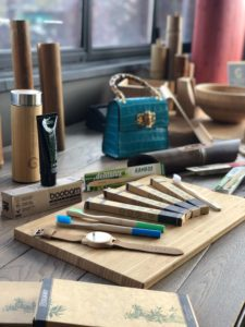 oggetti bambù
