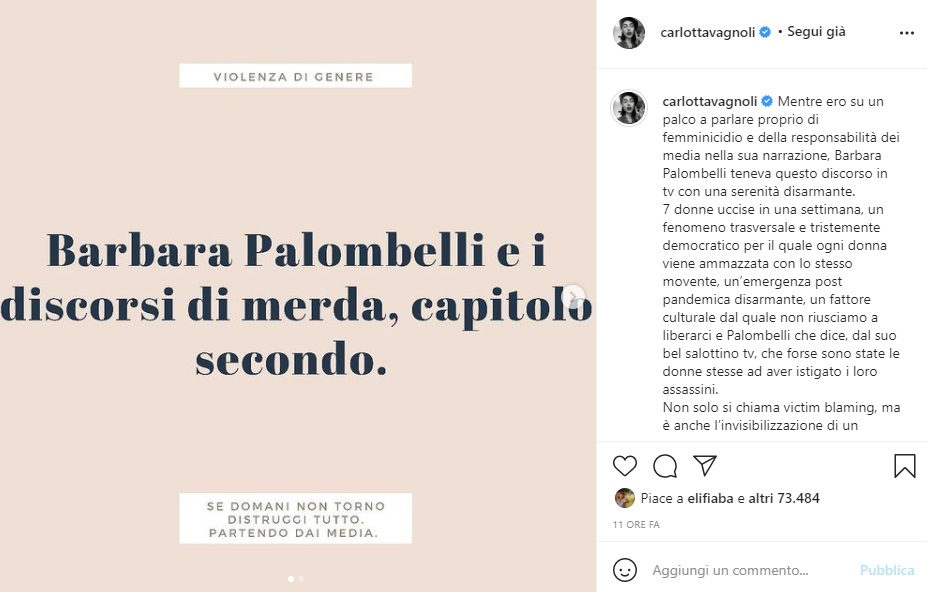 carlotta vagnoli instagram