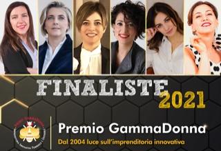 finaliste Premio GammaDonna 2021