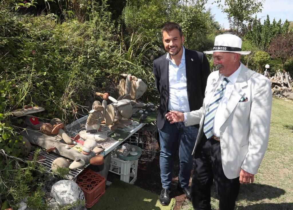 i dinosauri di sassi di Emilio Padovani
