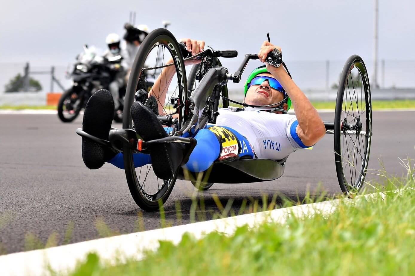 luca mazzone paralimpiadi handbike