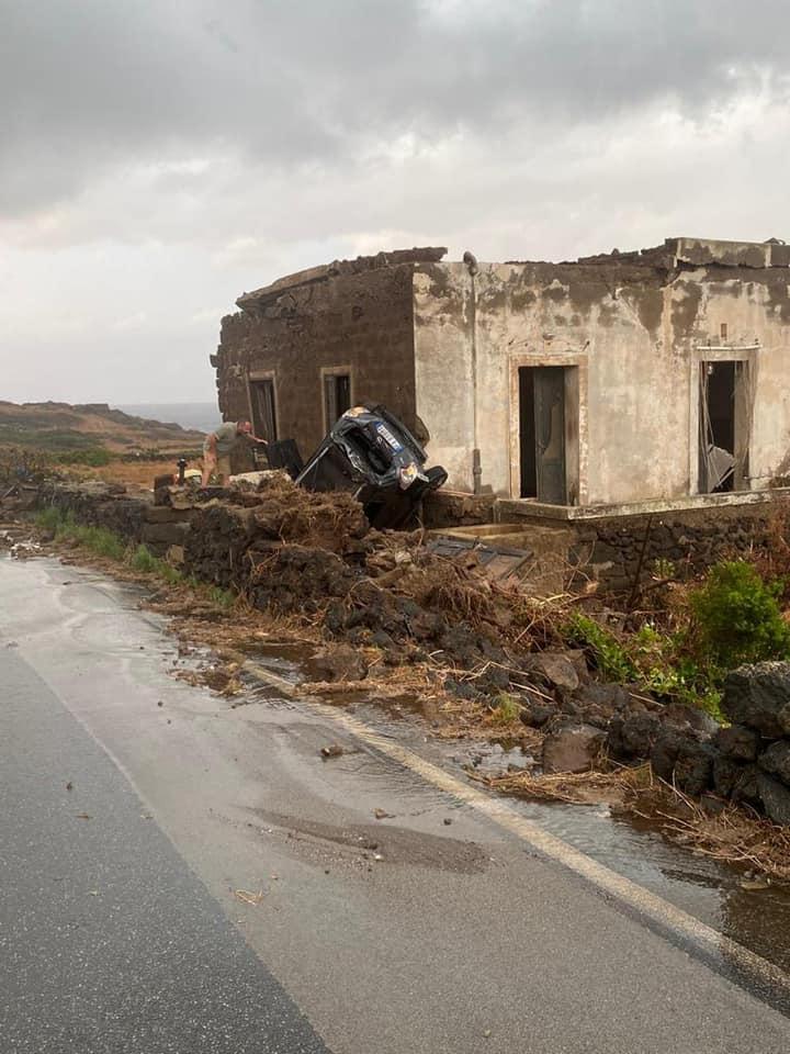 pantelleria maltempo