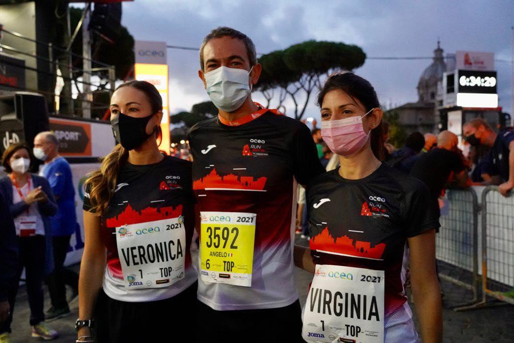 virginia raggi maratona roma