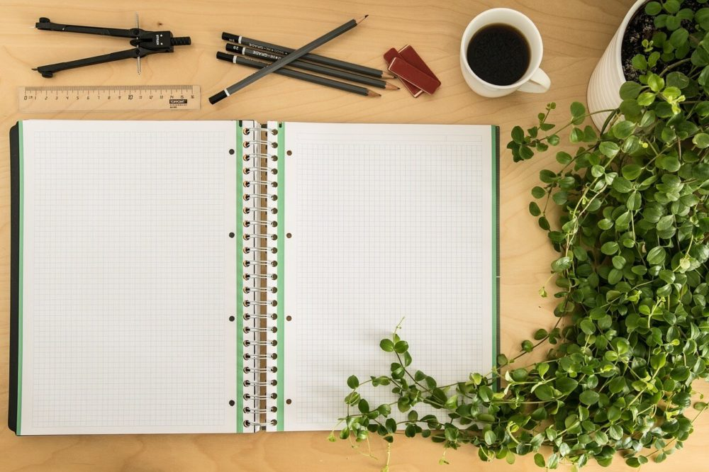 quaderno scrittura