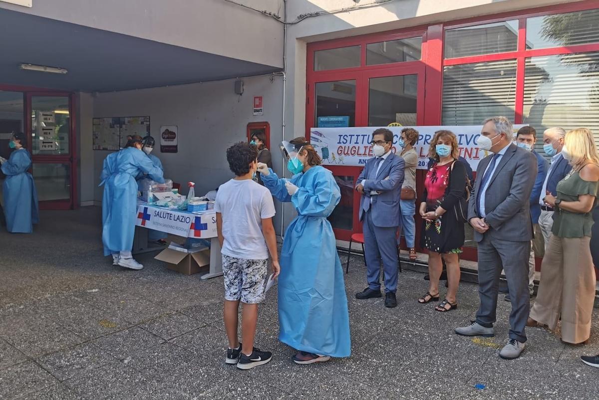 test salivari ic Bachelet Roma