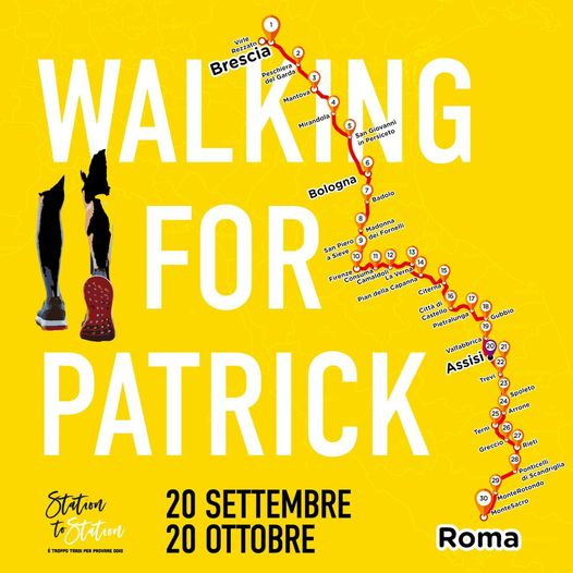 walking for patrick