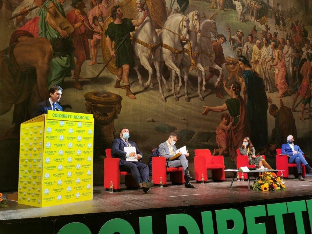 """evento """"L'Agricoltura che verrà: verso un pianeta più green e sostenibile"""" promosso dalla Coldiretti delle Marche"""