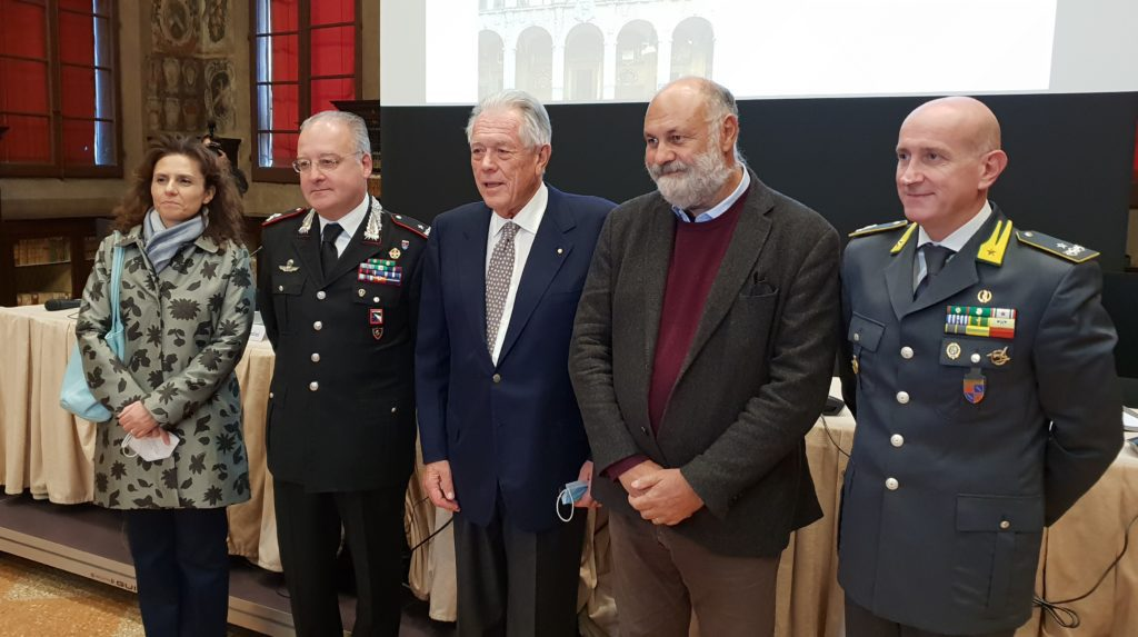cerimonia di inaugurazione del 214esimo anno accademico dell'Accademia nazionale di Agricoltura a Bologna