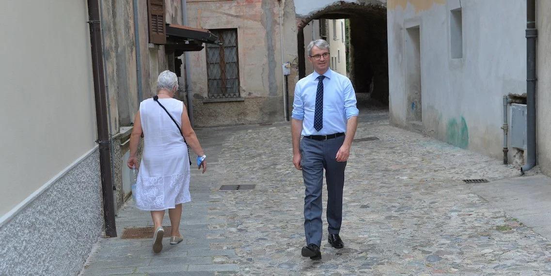 Davide Galimberi sindaco varese