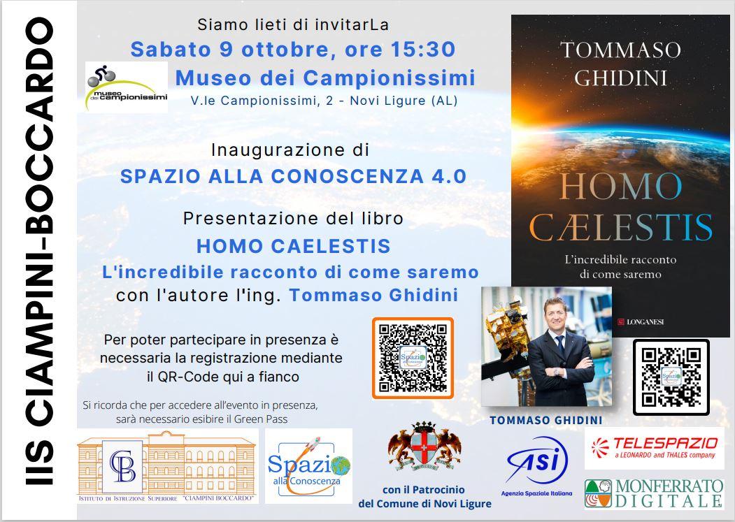 IIS Ciampini Boccardo incontra Tommaso Ghidini