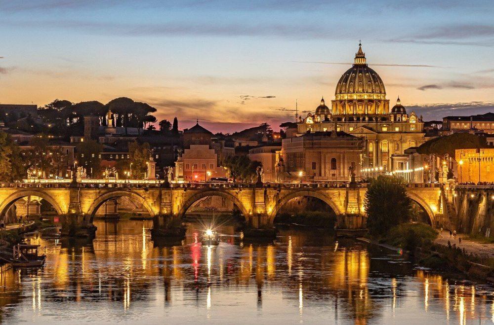 roma san pietro panorama