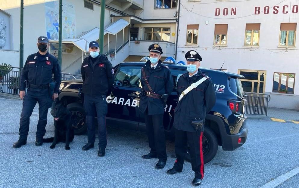 carabinieri incontrano studenti don bosco di chatillon