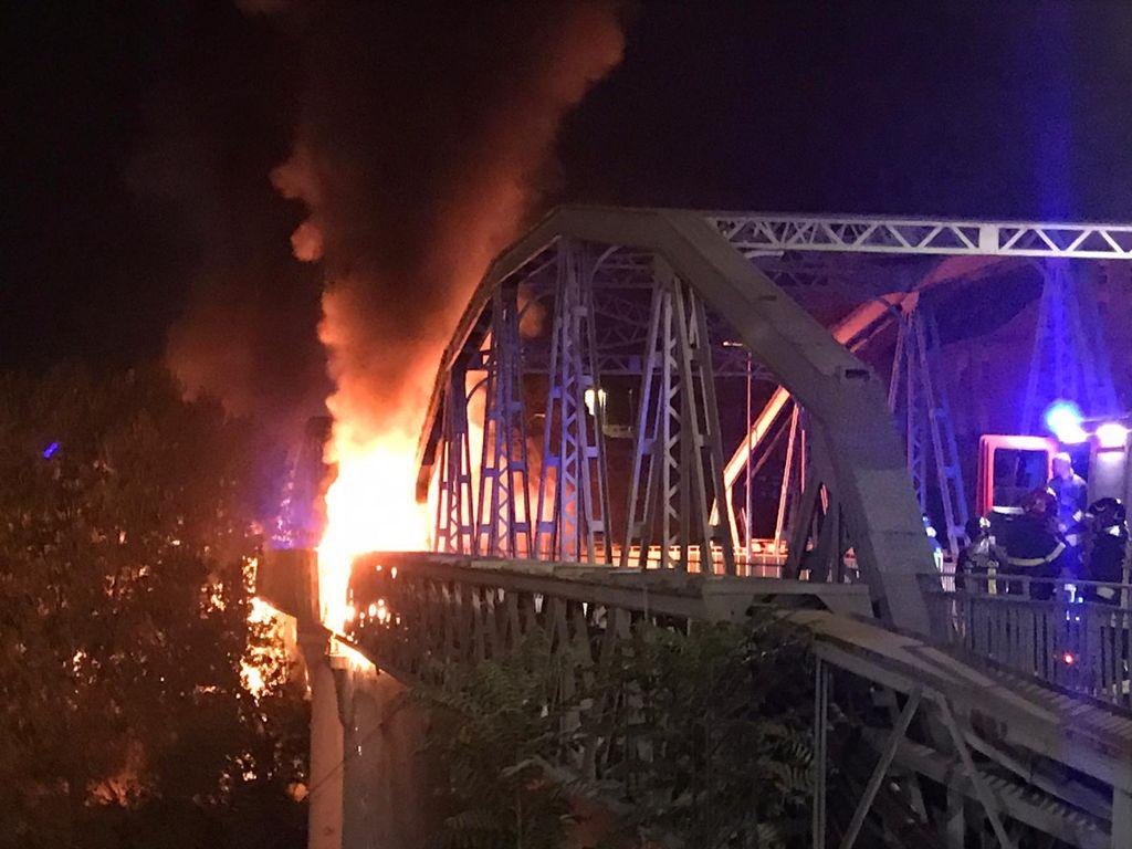 incendio ponte industria