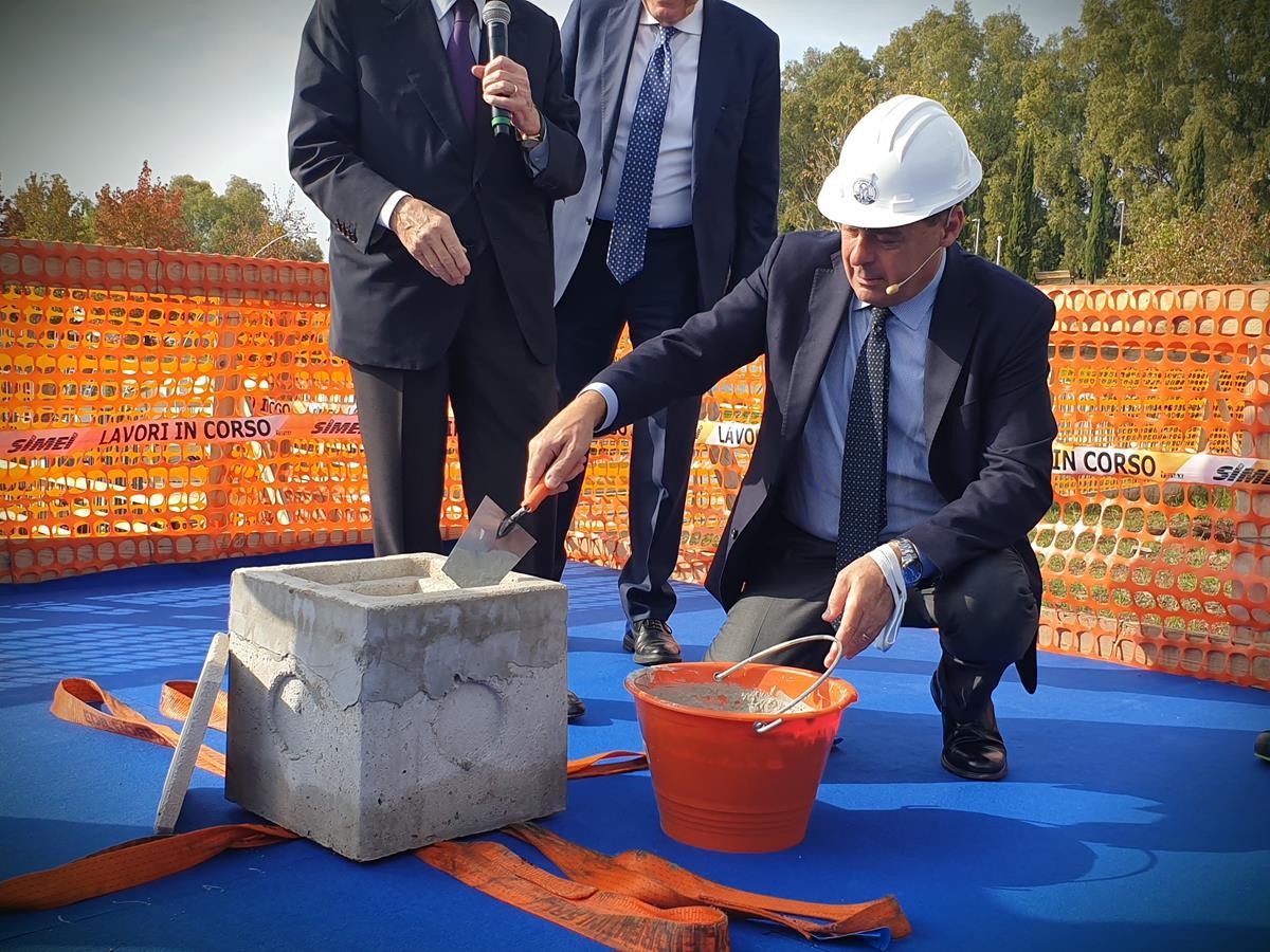 nuovo edificio del Campus Bio-Medico di Roma
