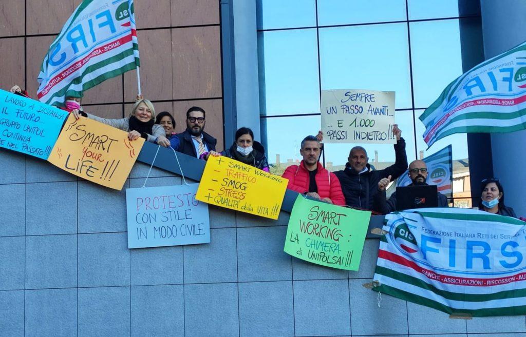 sciopero dipendenti unipol bologna