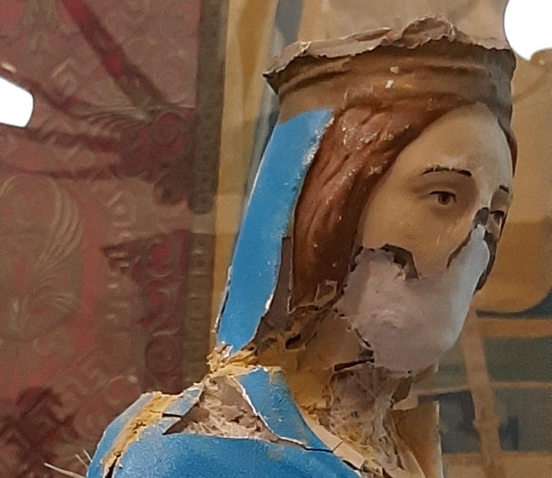 statua della Beata Vergine di Batnaya 3