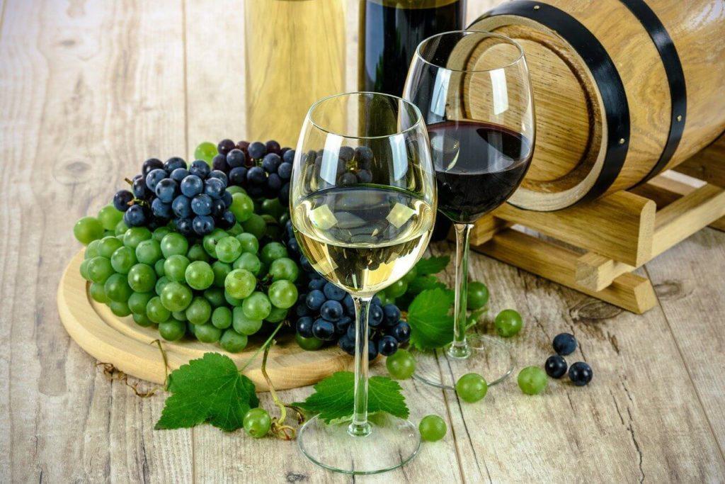 vino bianco vino rosso uva