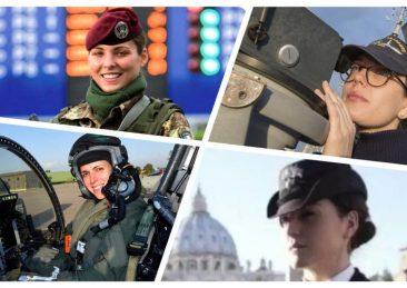 donne esercito
