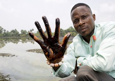 inquinamento shell niger