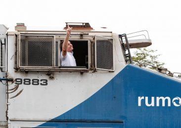 società di logistica brasiliana Rumo ferrovia