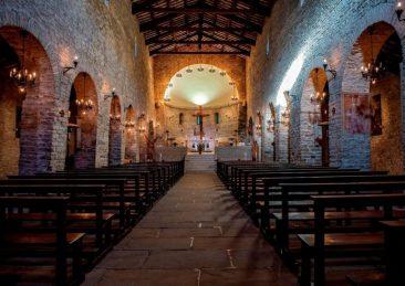 Abbazia di San Michele Arcangelo, Lamoli di Borgo Pace (PU) - Foto Antonio Straccini © FAI