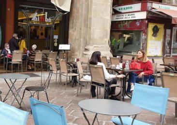 Bologna bar covid tavoli all'aperto