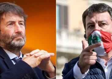 Dario Franceschini Matteo Salvini