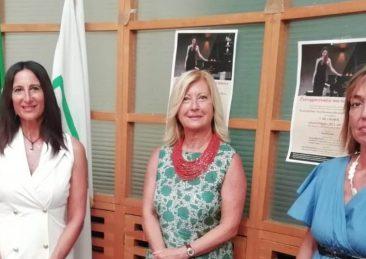 Nella foto l'Ufficio di Presidenza della Cpo (la Presidente Maria Lina Vitturini , le Vicepresidenti Maria Antonietta Lupi e Valentina Ugolinelli)