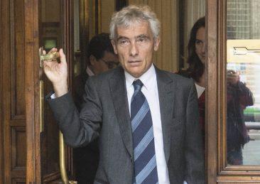 IL PRESIDENTE DELL'INPS TITO BOERI ESCE DALLA CAMERA DEI DEPUTATI DOPO L'AUDIZIONE IN COMMISSIONE