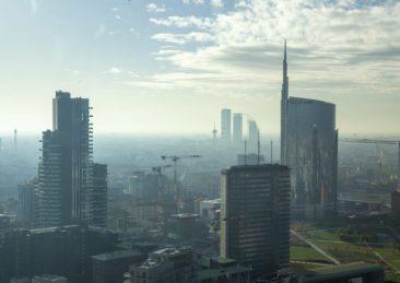 milano skyline inquinamento