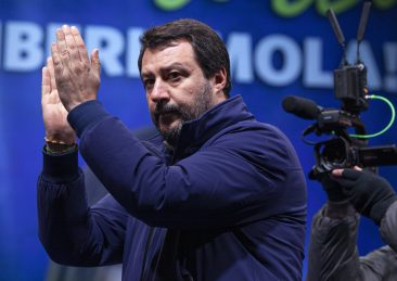 CHIUSURA CAMPAGNA ELETTORALE IN EMILIA ROMAGNA CON LEGA FORZA ITALIA FRATELLI D ITALIA